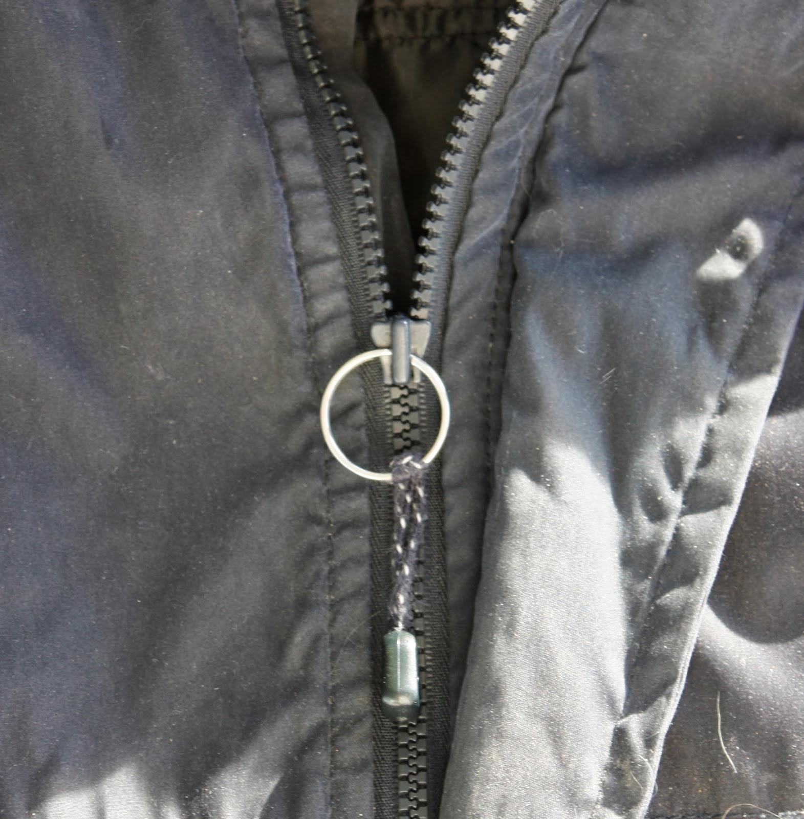 artsybuildinglady quick fix for a broken zipper slider. Black Bedroom Furniture Sets. Home Design Ideas