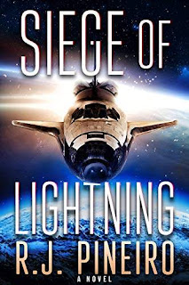 Siege of Lightning - a scientific thriller book promotion R.J. Pineiro