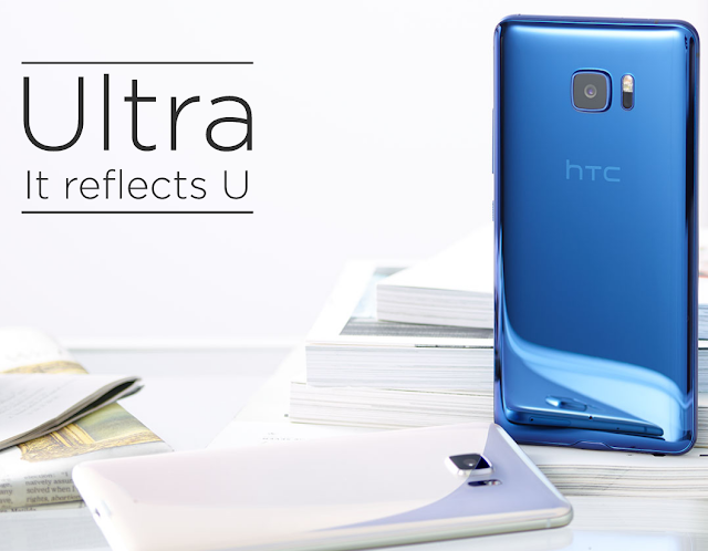 HTC U Ultra phablet great design slim