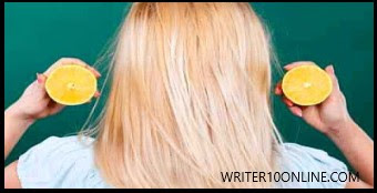 Benefits of lemon for intensifying hair length