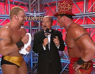 WCW Spring Stampede 2000 - Shane Douglas and Buff Bagwell competed for the WCW tag team titles