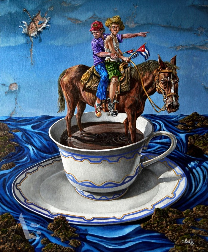 Кубинский художник. Carmelo Gonzalez Gutierrez