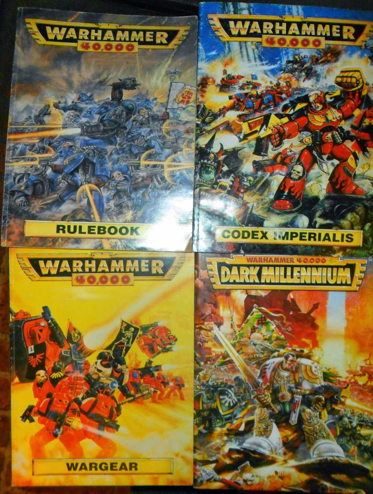Wargame Dork: [Operation Game Collection] Rogue Trader Warhammer 40K