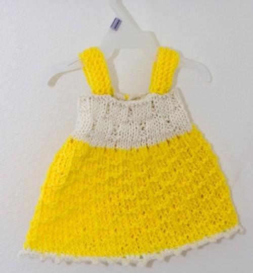Sunshine Baby Dress - Free Pattern