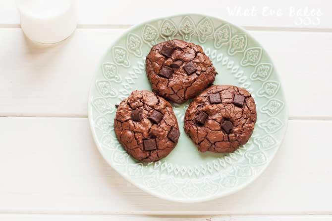 Cookies súper chocolateadas