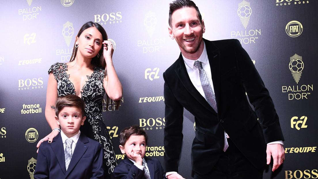#VIDEO: La adorable reacción de un hijo de #Messi al escuchar que su padre es el ganador del Balón de Oro
