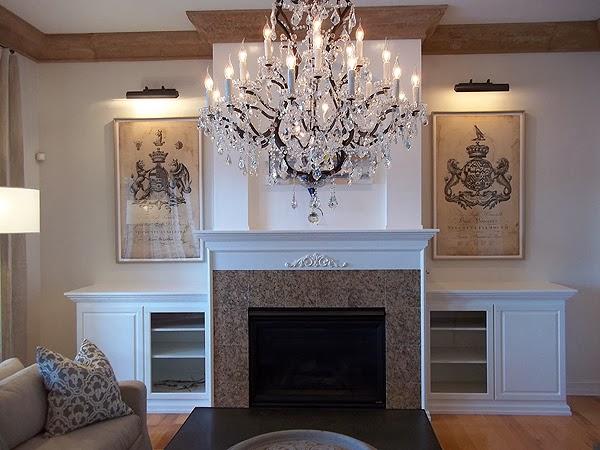 Painting Cabinets Around Fireplace White Everything I