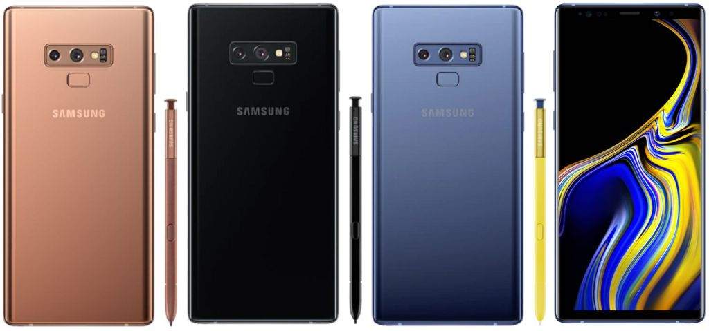 Samsung Galaxy Note9 (2018) SM-N960 with Specifications