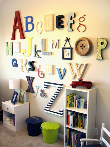 decorar casa letras