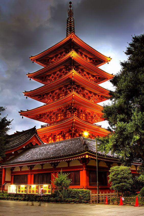 Early Stage Finance - Sensoji Pagoda in Asakusa, Tokyo, Japan