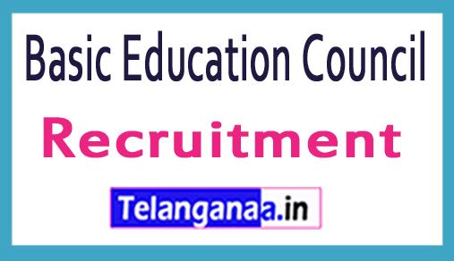 Basic Education Council BEC Recruitment