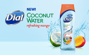 Dial Coconut Water Refreshing Mango body wash #GetNoticed