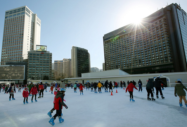 Seoul Plaza Outdoor Ice Skating Rink