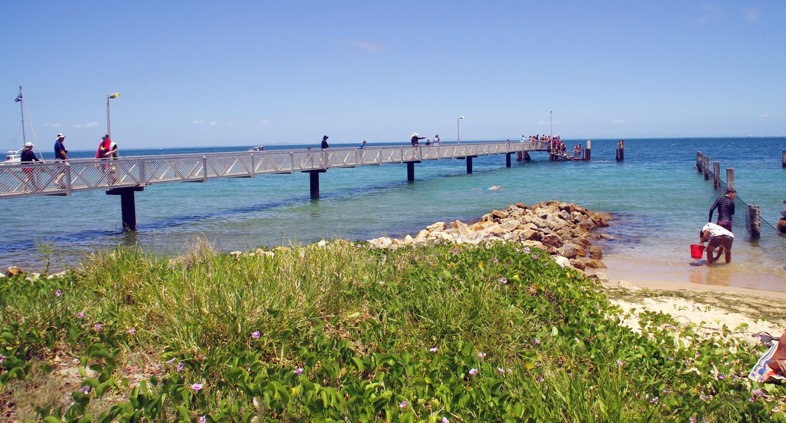 Amity Point Jetty Stradbroke Island