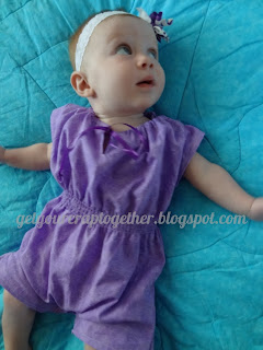 FREE Pink Lemonade Romper Tutorial and Pattern by GYCT