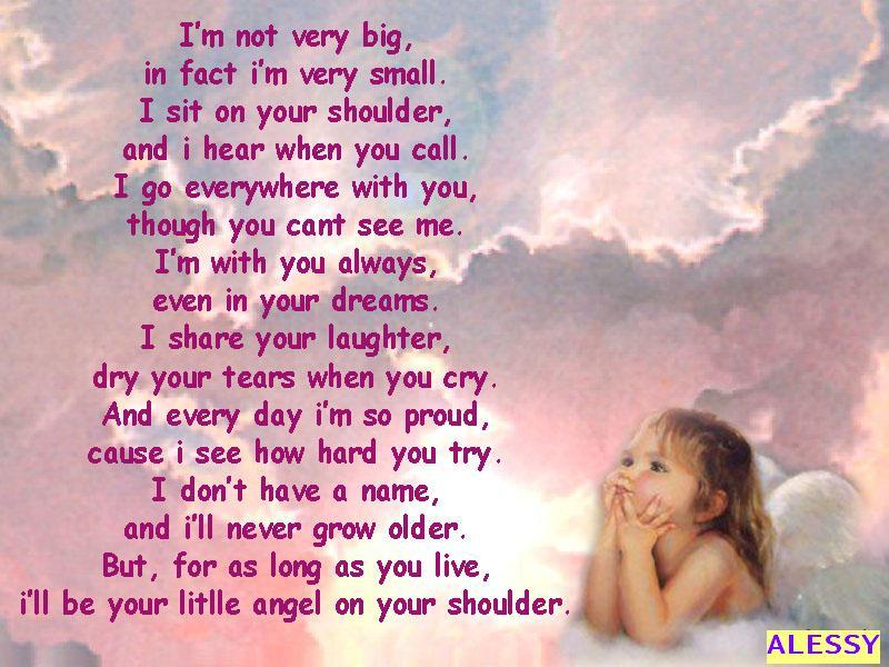 Baby Guardian Angel Quotes: Beautiful: Beautiful Poems