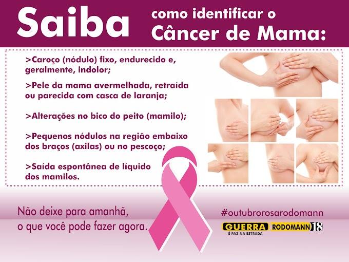 Rodomann desenvolve campanha de conscientização e prevenção do Câncer de Mama