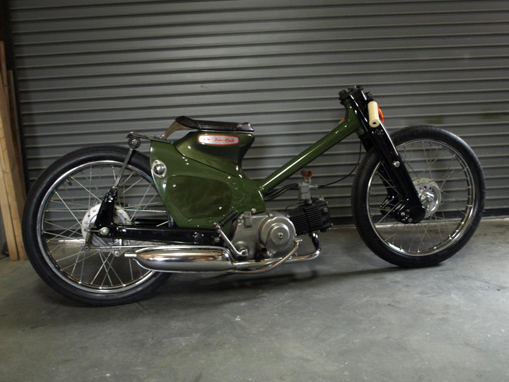 Honda C100 Custom By Rad Jalopy Lsr Bikes