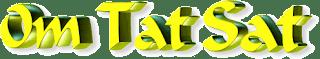 Om Tat Sat Mantra Image in 3D