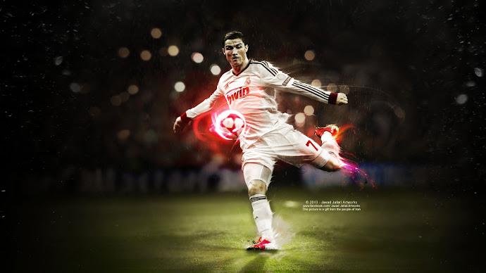 Wallpaper: Art of Cristiano Ronaldo fans
