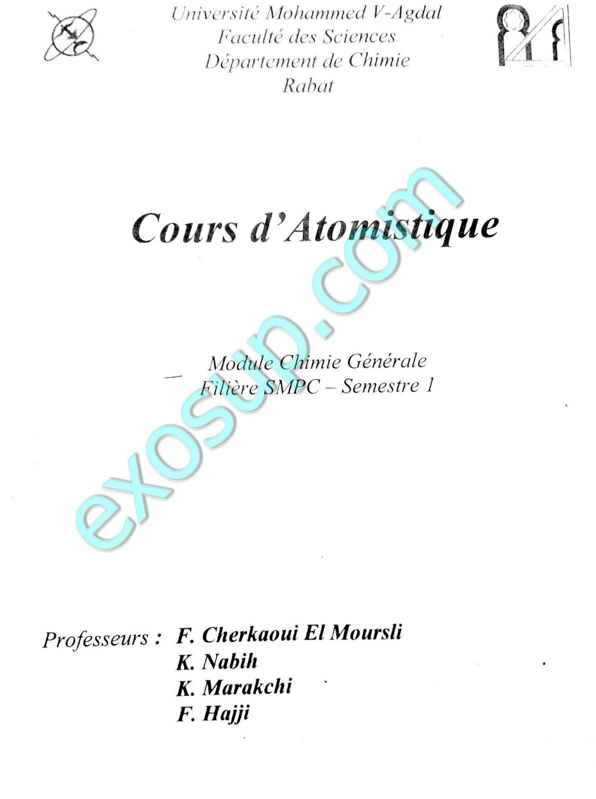COURS DATOMISTIQUE S1 SMPC PDF DOWNLOAD