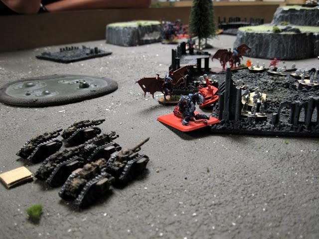 Scarik's Russes hit Jon's swarm.
