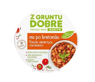 """Mix po bretońsku (fasola, ciecierzyca, soczewica) """"Z gruntu dobre"""""""