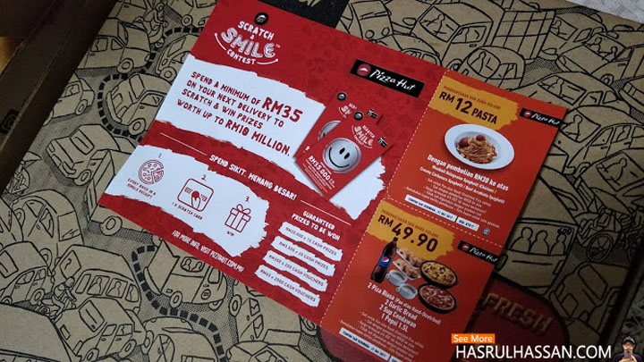 contest Gores dan Senyum Pizza Hut
