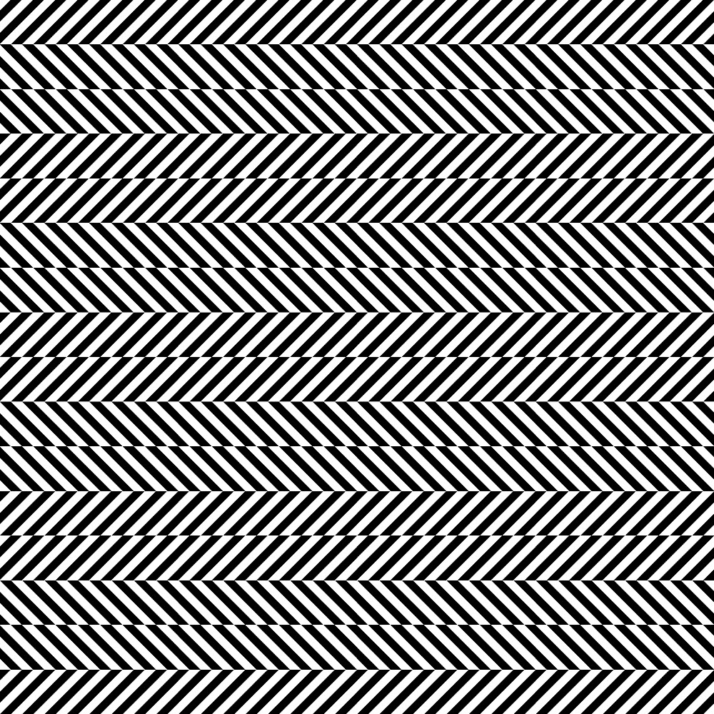 lines straight line horizontal optical illusion studio