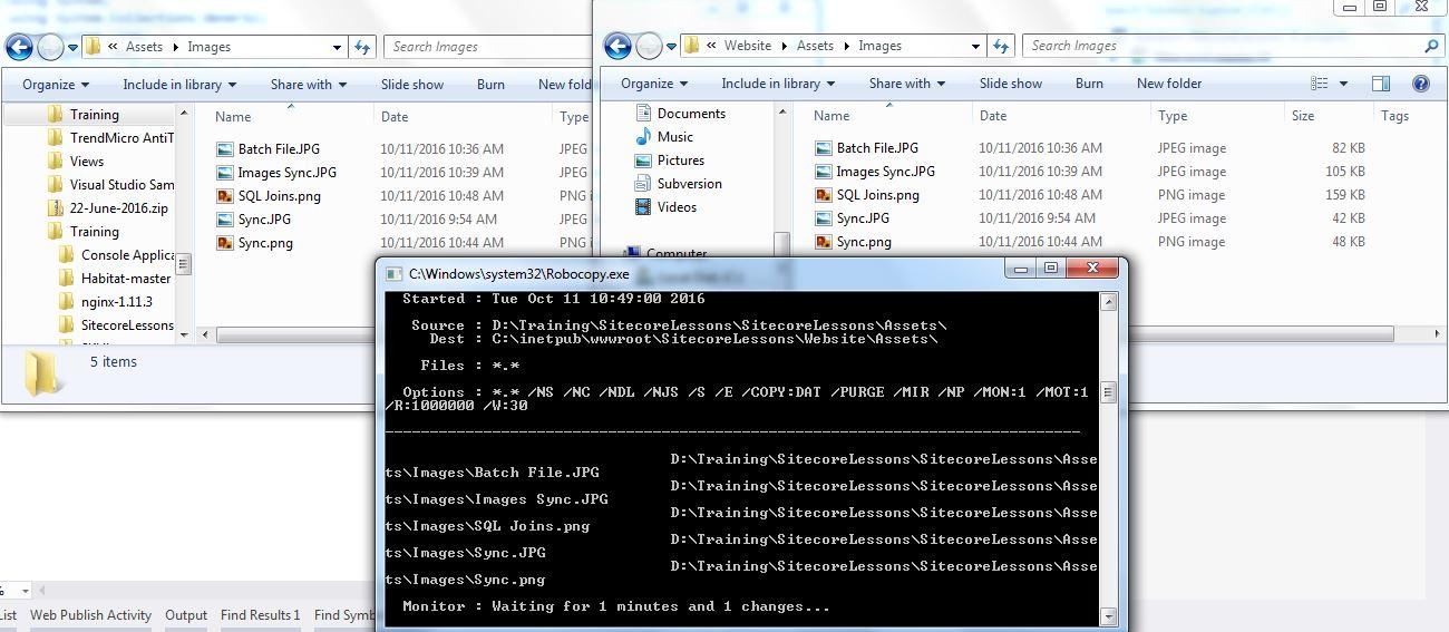 Learning lessons for Sitecore, C#,  NET, SQL Server