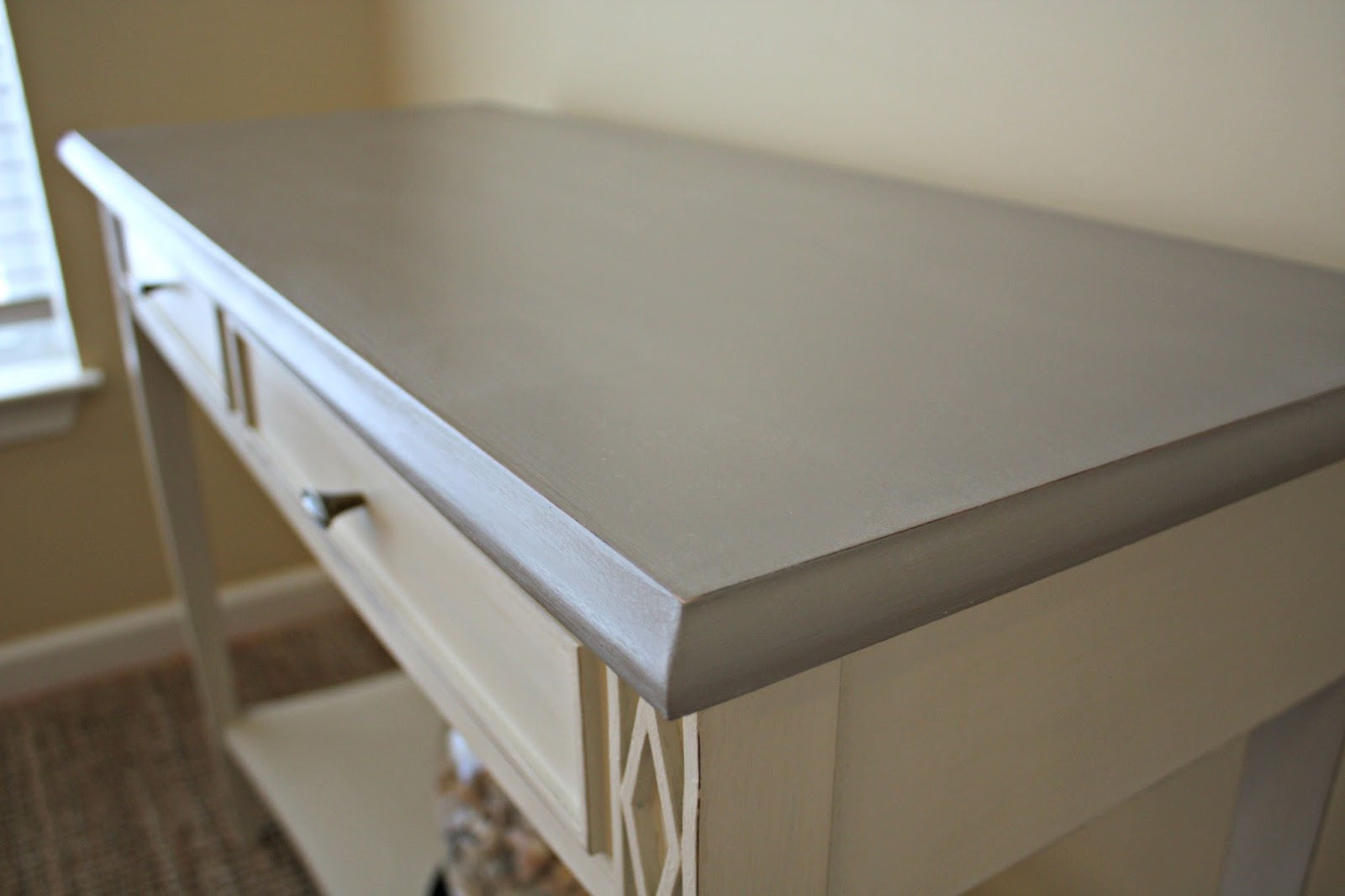 Table Top Painted In Coco Chalk Paint