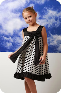 Dress Anak Motif Polkadot