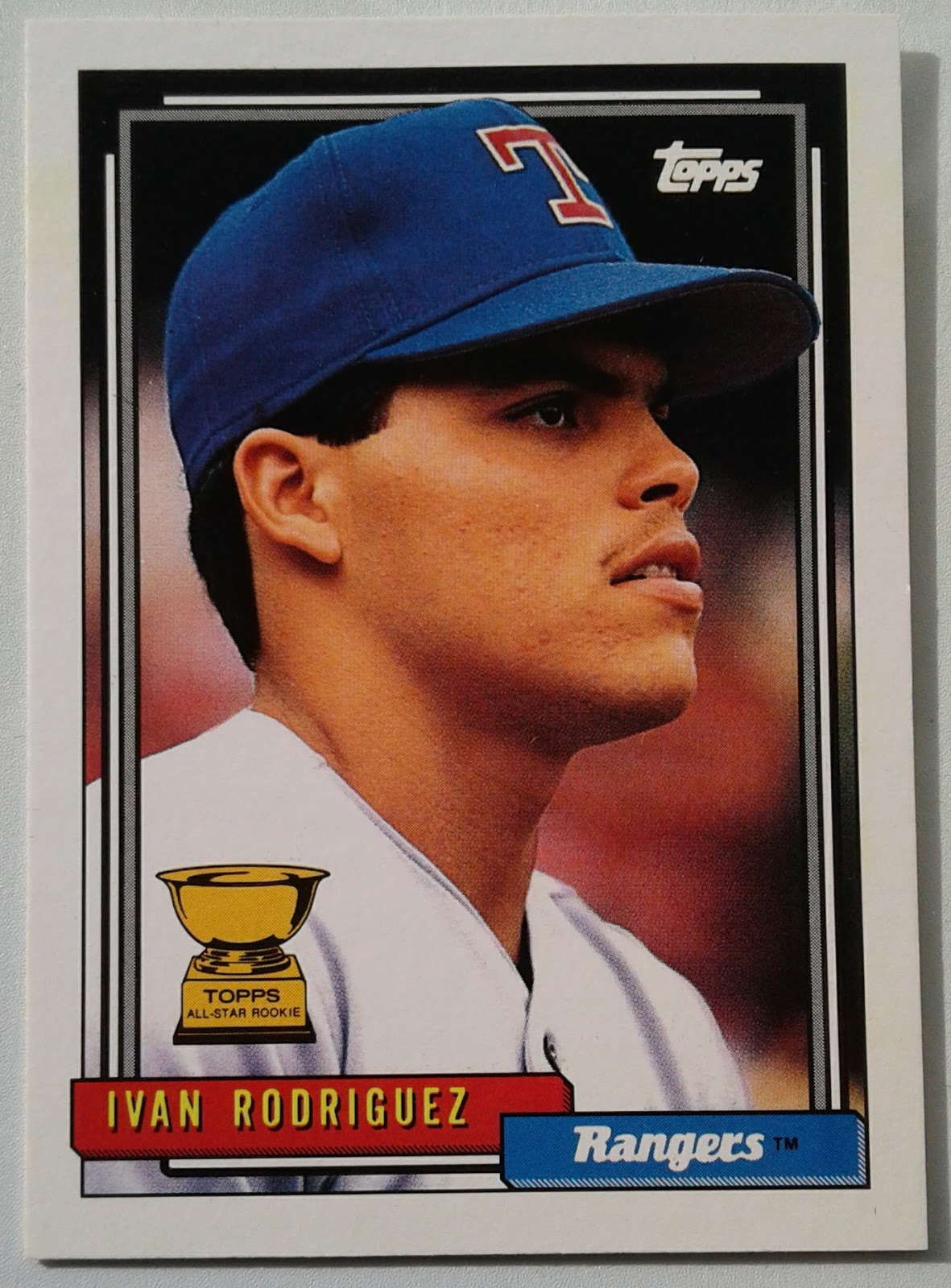 Phungo 1992 Topps All Star Rookie Cup Index 1991 Award