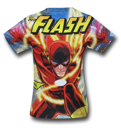 "30 Gifts for ""The Flash"" Lover in Your Life Dc Comics police line the flash t-shirt comic book"