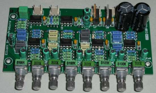 Graphic Equalizer Using La3600 Electronic Circuits And Diagram