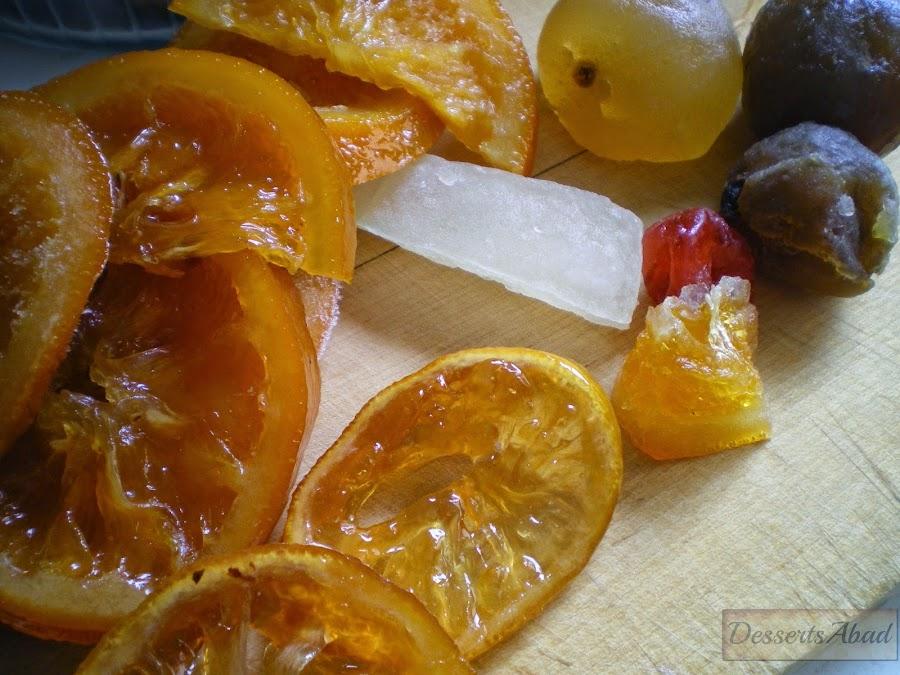 Fruta escarchada