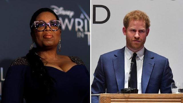 El príncipe Enrique y Oprah Winfrey trabajan juntos en una serie para Apple sobre salud mental