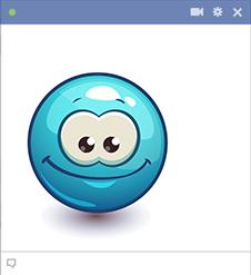 Grinning Facebook Emoji