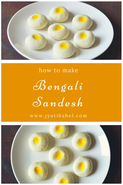 Sandesh / Sondesh is a traditional Bengali sweet. Sandesh Recipe | How to Make Sandesh