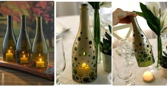 De todo un poco c mo cortar una botella de vidrio para - Botellas con velas ...