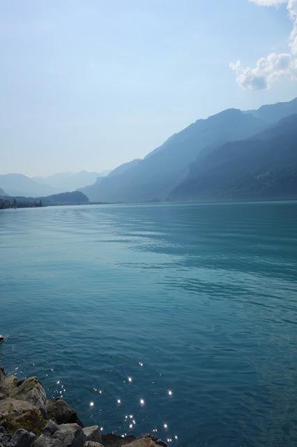 The beautiful lakes of Interlaken