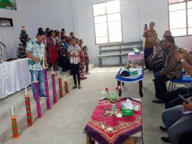 Aliong Mus Rayakan Natal di 7 Kecamatan di Pulau Taliabu