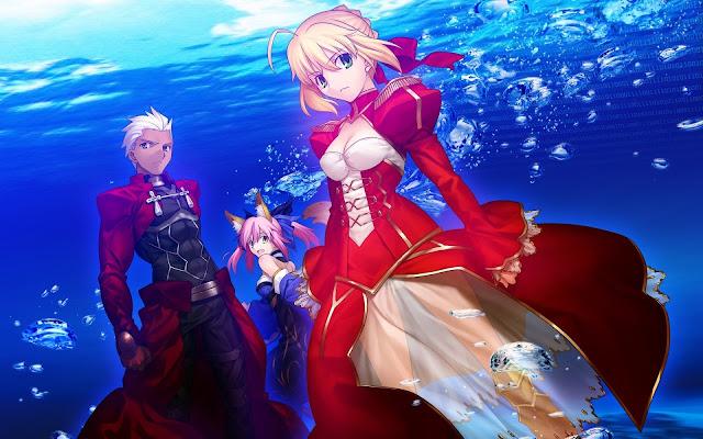 Anime Fate/Extra Last Encore confirma voz de Berserk y los artistas de temas musicales