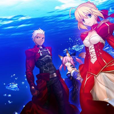 Anime Fate/Extra Last Encore confirma voz de Berserk y los artistas de sus temas musicales
