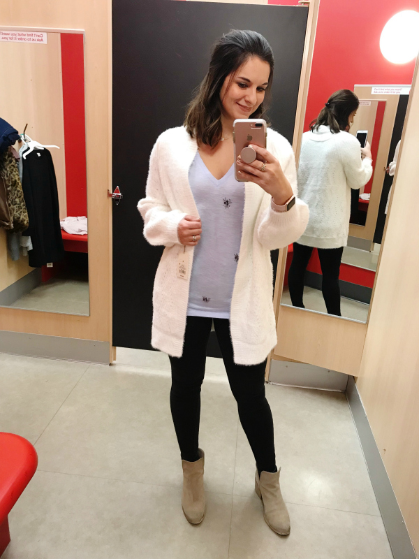 target try ons, north carolina blogger, style on a budget, black skinny jeans, mom style