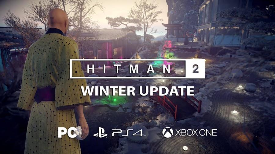 hitman 2 winter update snow festival
