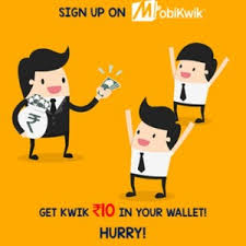 mobikwik signup offer and get 10 rs
