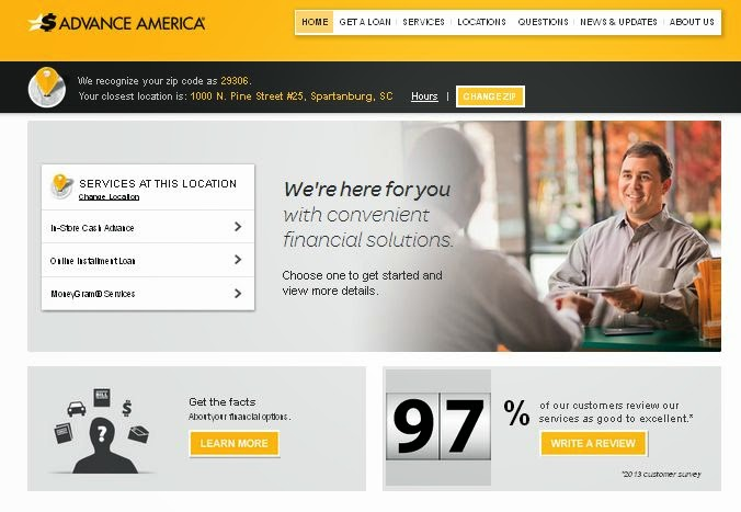 Payday Loans Wichita Ks >> You may want to read this: Advance America Cash Advance Payday Loan – Financial Planning