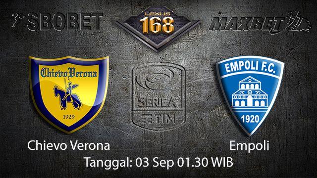 Prediksi Bola Jitu Chievo vs Empoli 3 September 2018 ( Italian Serie A )