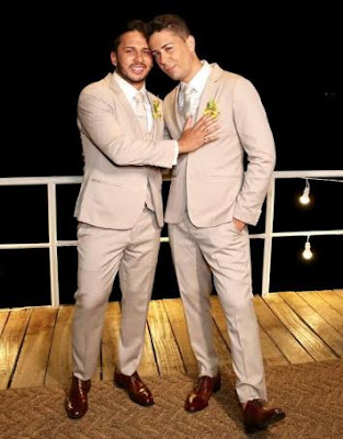Carlinhos Maia e Lucas Guimarães se casam em cerimônia assistida por quase 3 milhões de pessoas